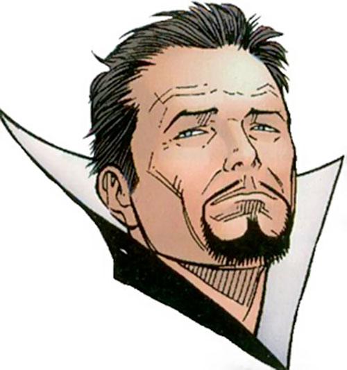 Abra Kadabra (Flash enemy) (DC Comics) face closeup