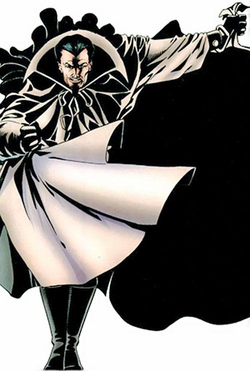 Abra Kadabra (Flash enemy) (DC Comics) performing