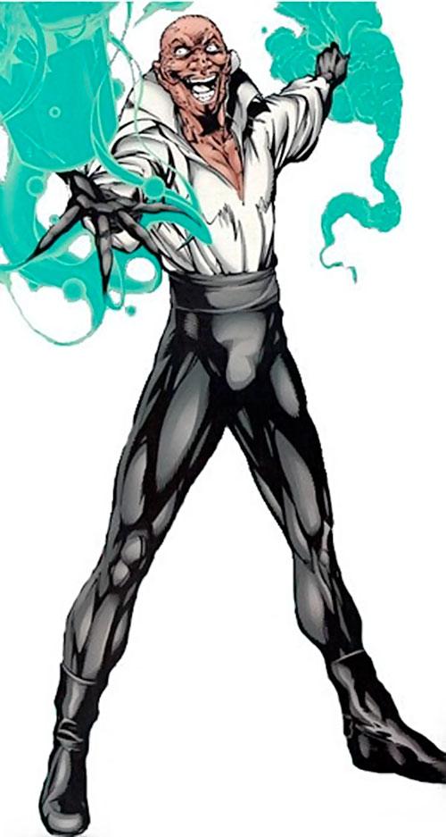 Abra Kadabra (Flash enemy) (DC Comics) casting a spell