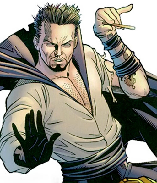 Abra Kadabra (Flash enemy) (DC Comics) waving his little wand