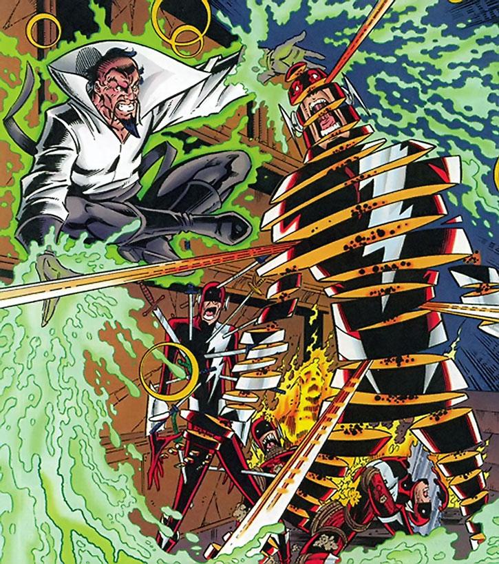 Abra Kadabra tortures the Flash