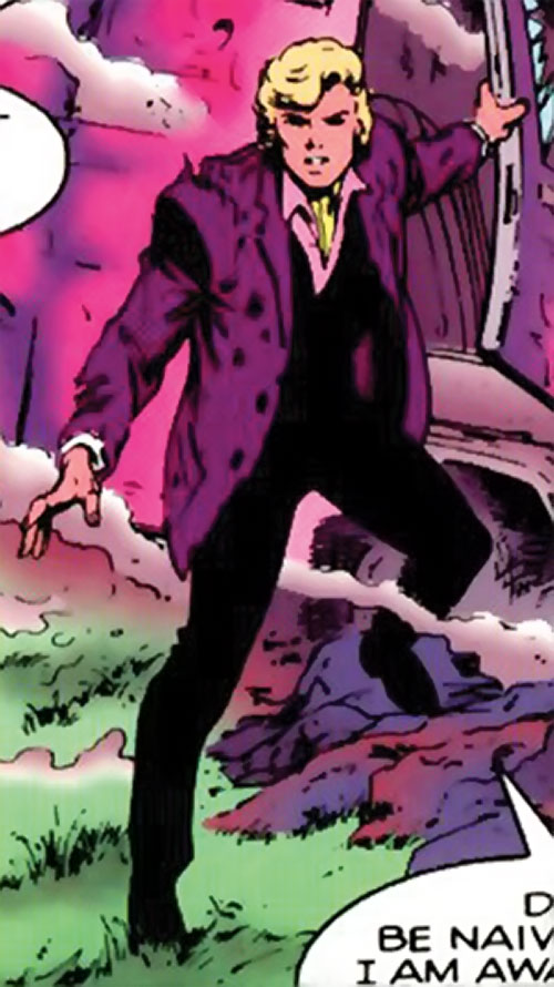 Adam Destine of Clan Destine (Marvel Comics)