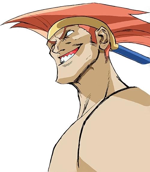 Adon (Street Fighter video games) face closeup