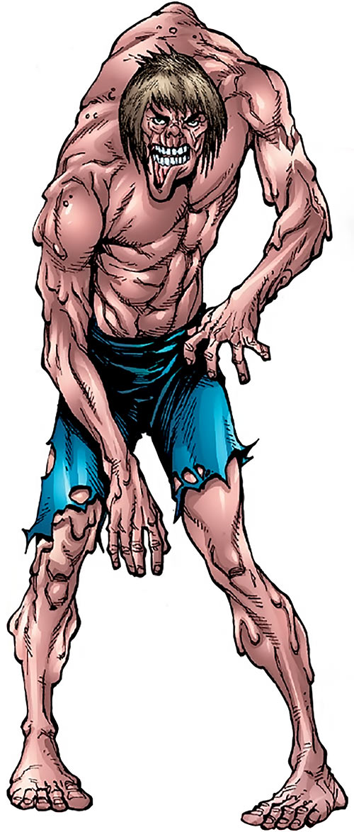 Adonis (Marvel Comics) (Captain America enemy) from a handbook