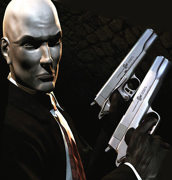 Agent 47 with paired Hardballers