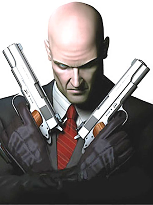 agent 47 mister 47 hitman video game character
