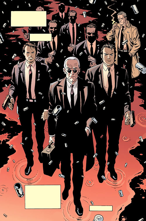 Agent Graves and the Minutemen (100 Bullets) (DC Comics)