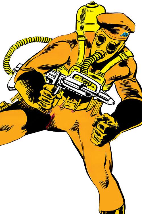 Agent Orange (Batman and the Outsiders) (DC Comics)