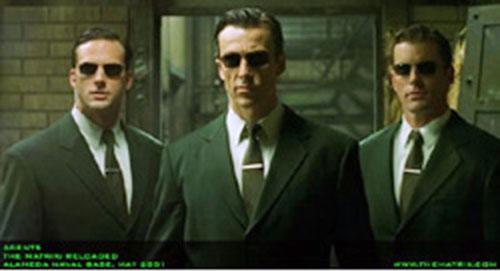 Agents (The Matrix) trio