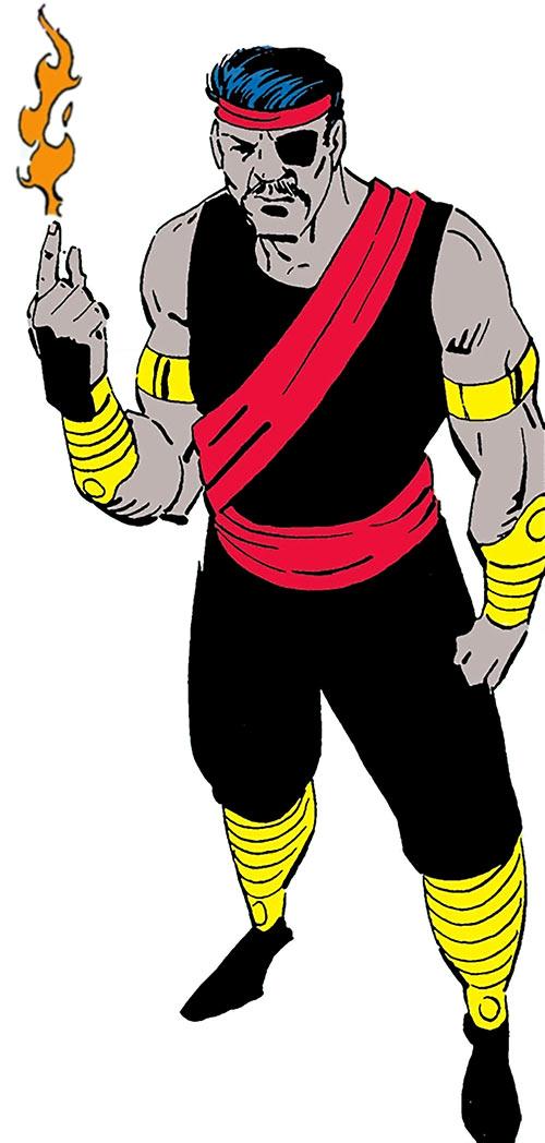 Agni of the Djihad (Suicide Squad enemy) (DC Comics)