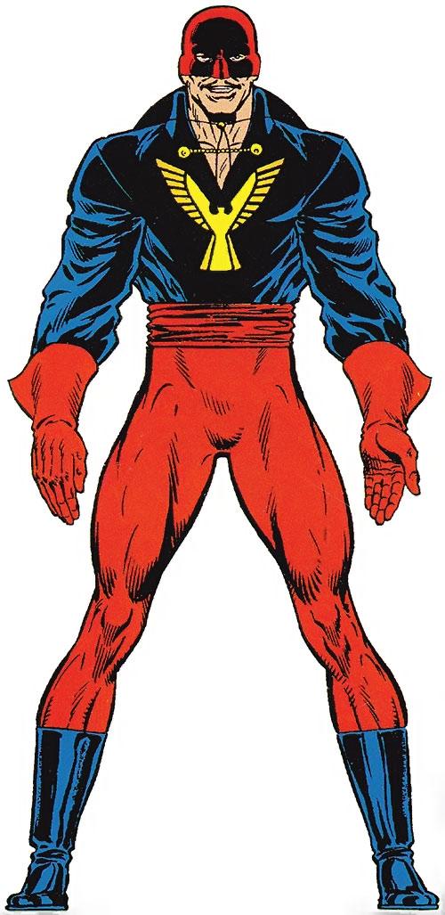 El Aguila (Marvel Comics) from the Master Edition handbook