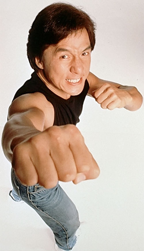 Ah Keung (Jackie Chan in Rumble in the Bronx)