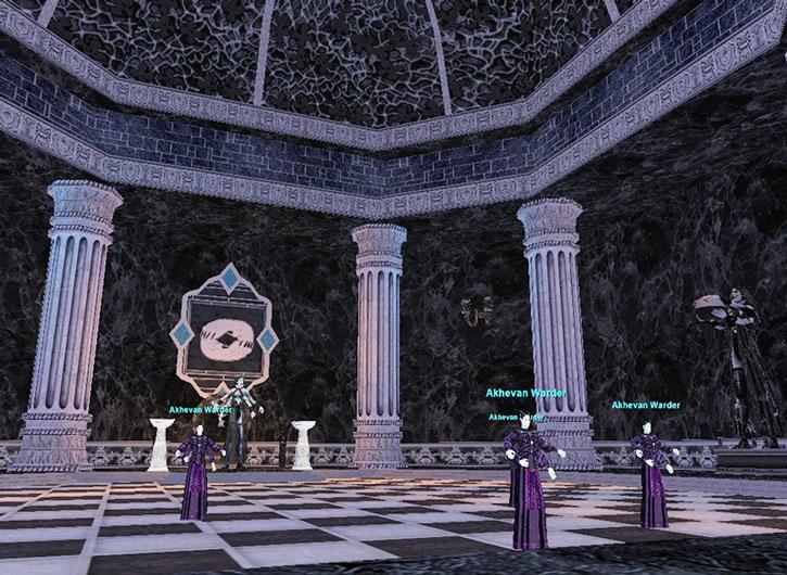Everquest I - the Akheva city of Vex Thal