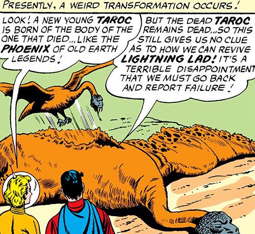 Taroc rebirth (Legion of Super-Heroes) (DC Comics)