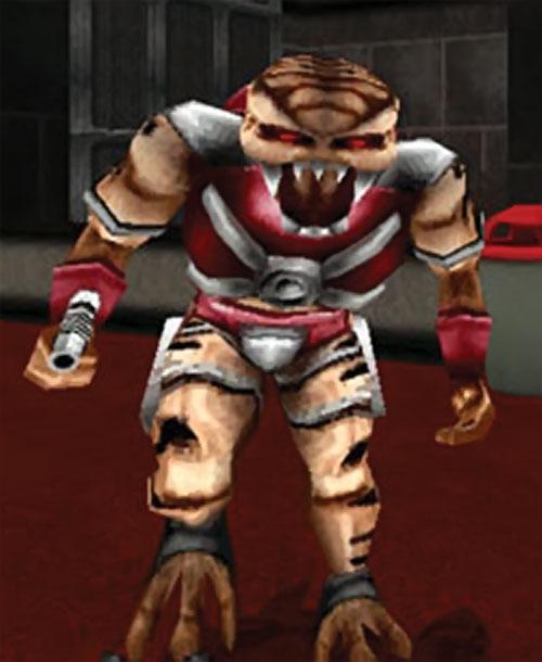 Alien trooper commander in Duke Nukem