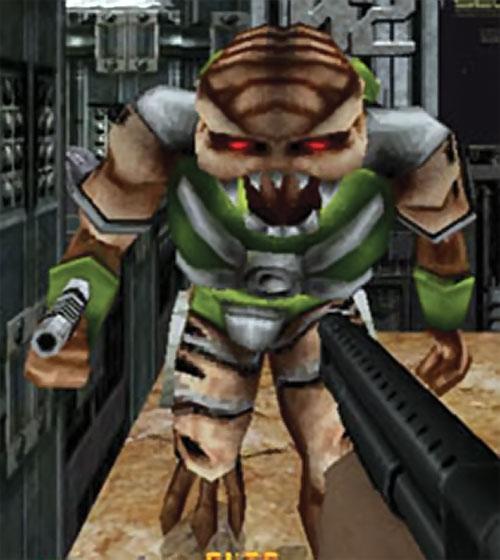 Alien trooper in-game model in Duke Nukem