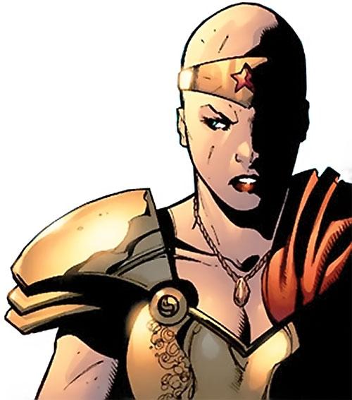 Alkyone (Wonder Woman character) (DC Comics) portrait with Diana's tiara