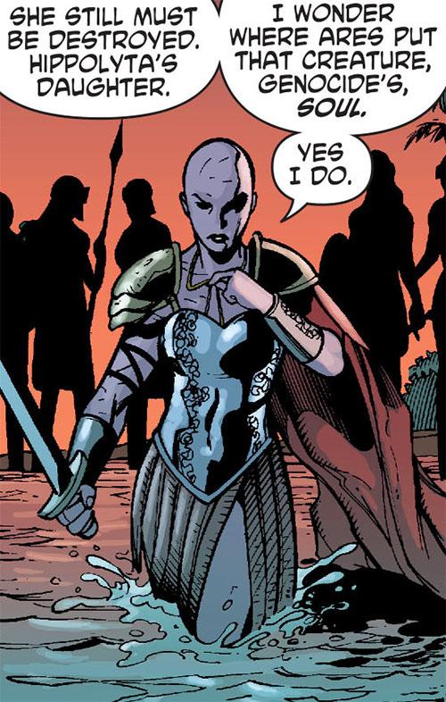Alkyone (Wonder Woman character) (DC Comics) in twilight