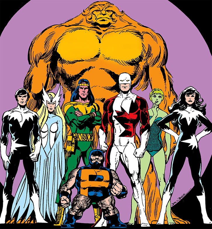 Alpha Flight group shot