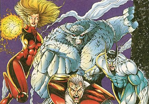 Brigade team (Image | Wildstorm comics)
