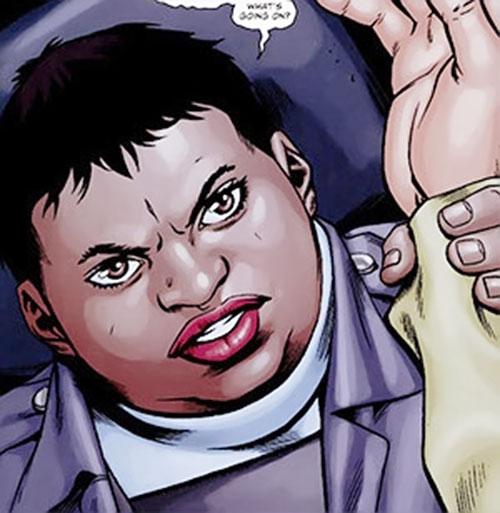 Amanda Waller of the Suicide Squad (DC Comics) awakening