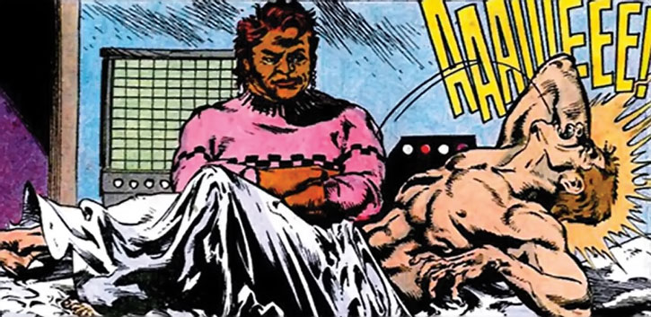 Amanda Waller and the Thinker