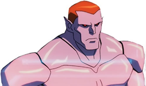 Amazo (Young Justice animated series) head and shoulders