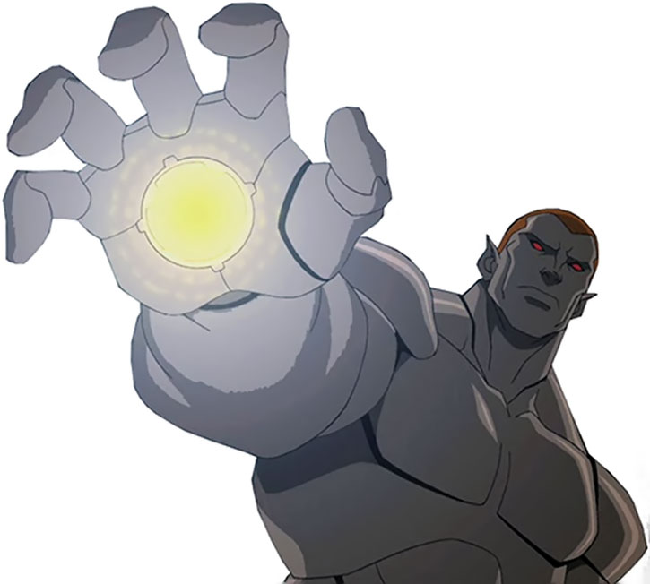 Amazo (Young Justice animated version) palm repulsor