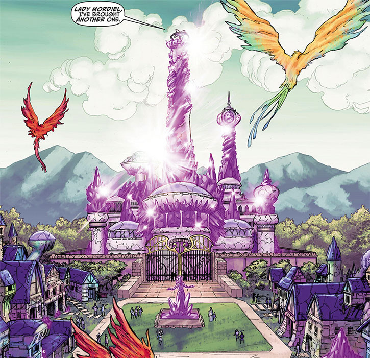 Palace of the House of Amethyst