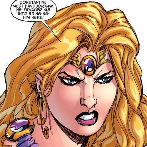 Amethyst (DC Comics New52) face closeup