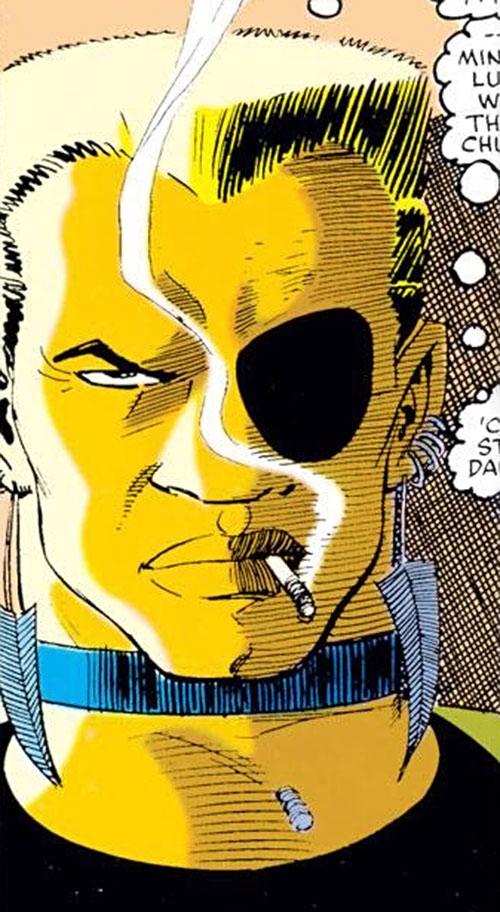 Ammo (Daredevil enemy) face closeup