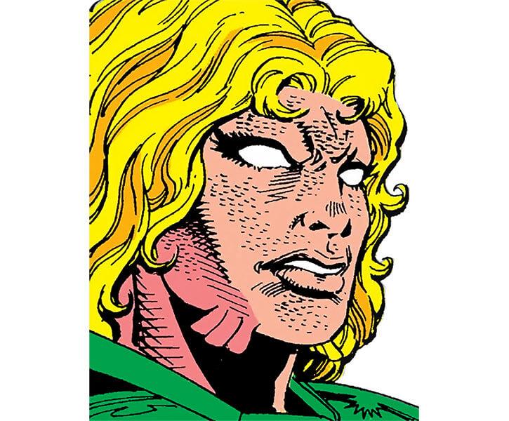 Anaconda (Marvel Comics) face closeup