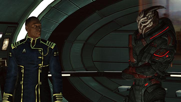 Captain Anderson and Nihlus Kryik