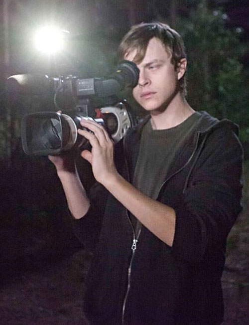 Andrew Detmer (Dane DeHaan in Chronicle) with his camera