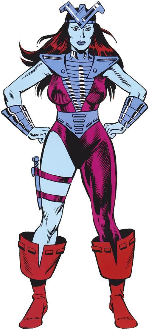 Andromeda Attumasen (Marvel Comics)
