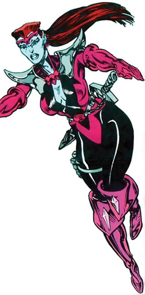 Andromeda Attumasen (Marvel Comics) peacelord look