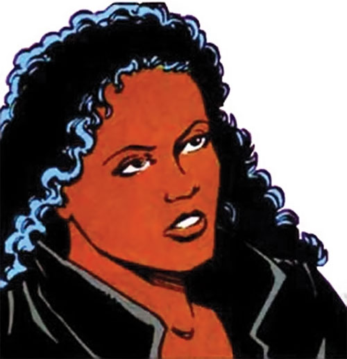 Andromeda Attumasen (Marvel Comics) as Genevieve Cross