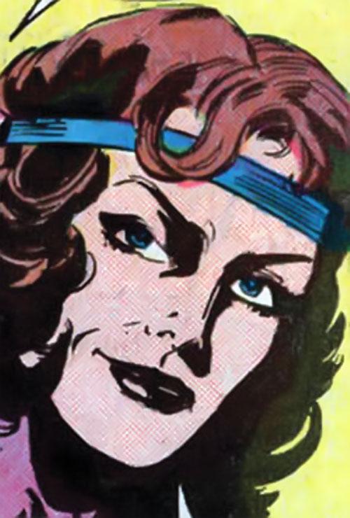 Andromeda Attumasen (Marvel Comics) as Andrea McPhee