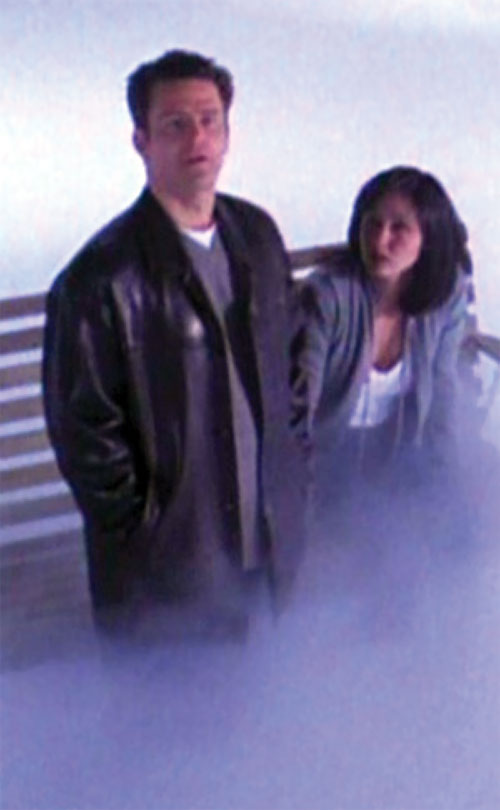 Andy Trudeaux (Ted King in Charmed) with Prue in the hereafter