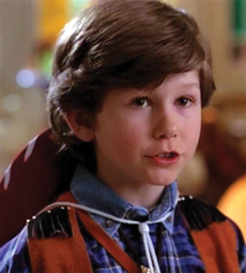 Andy Trudeaux (Charmed) as a little boy