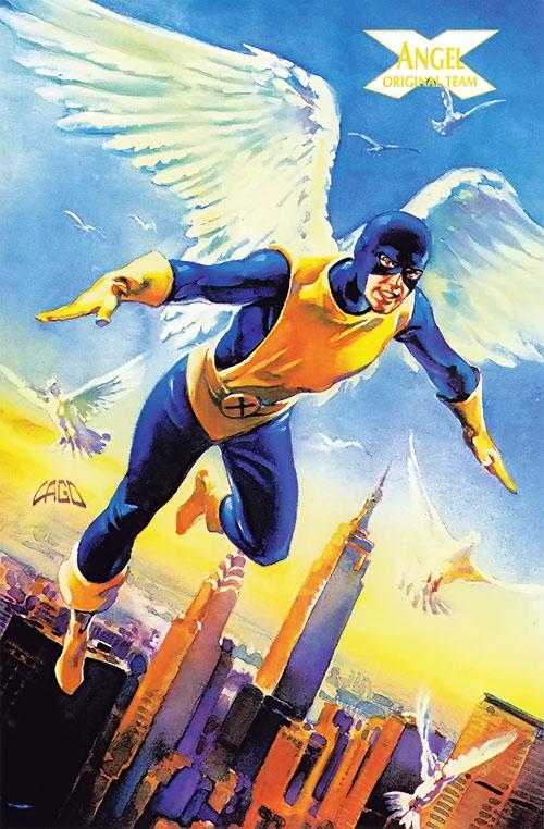 Early Angel of the X-Men (Marvel Comics)