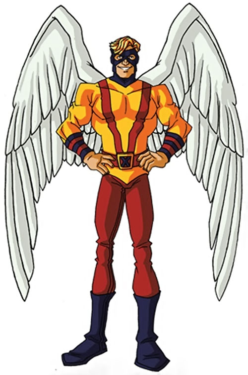 Early Angel of the X-Men (Marvel Comics) by RonnieThunderbolts 3/3