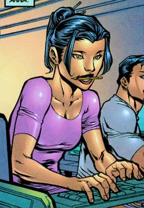 Anna Wei (Iron Man ally) (Marvel Comics) coding
