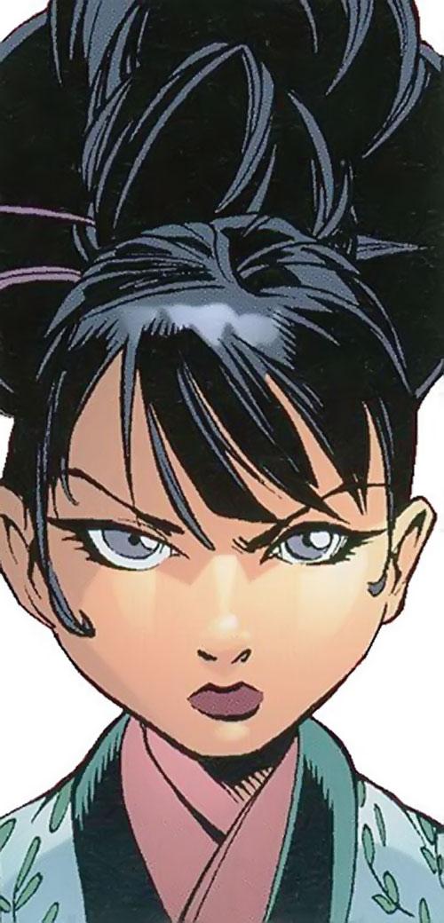 Annie Mae (Spyboy comics) face closeup