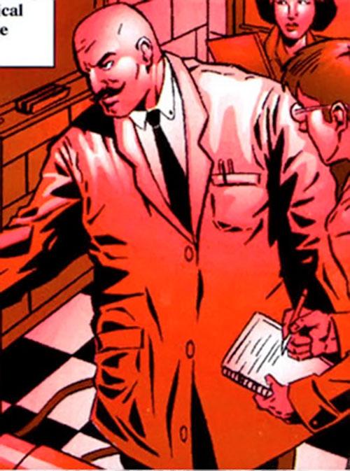 Anton Vanko (Iron Man enemy) (Marvel Comics) in his lab