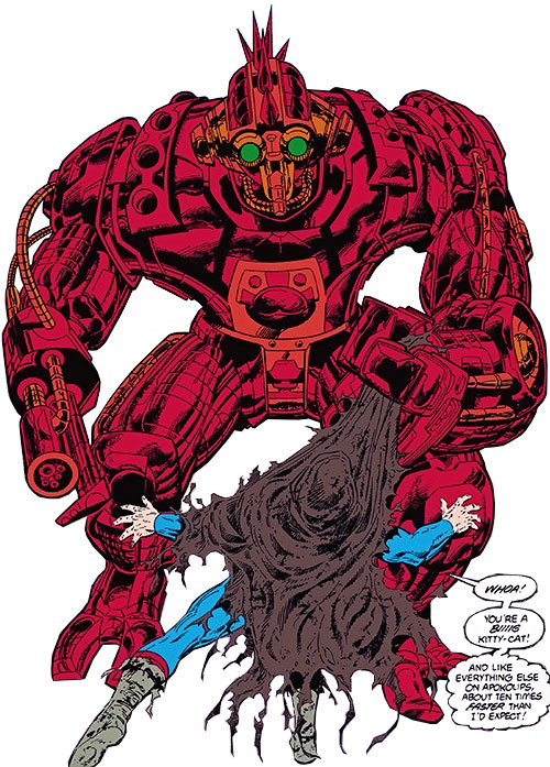 Pacifier of Apokolips vs. Superman (DC Comics)