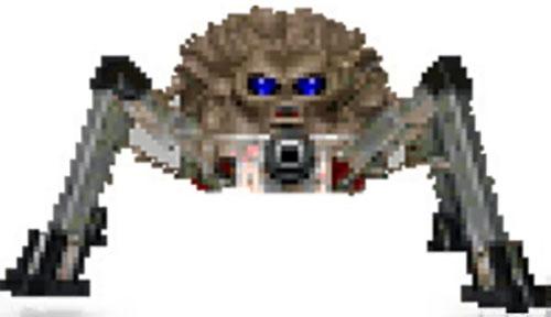 Arachnotron in the Doom video game