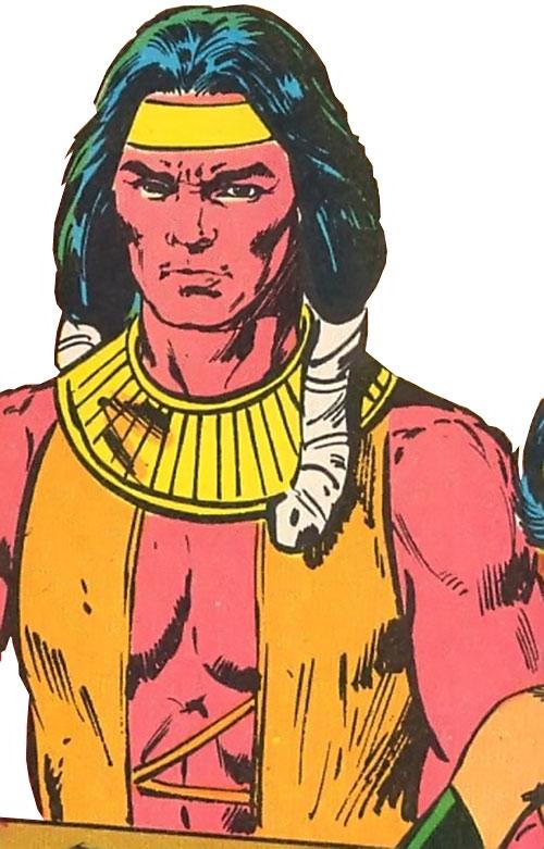 Arak the Wind Walker of Helix (Infinity, Inc. Enemy) (DC Comics)
