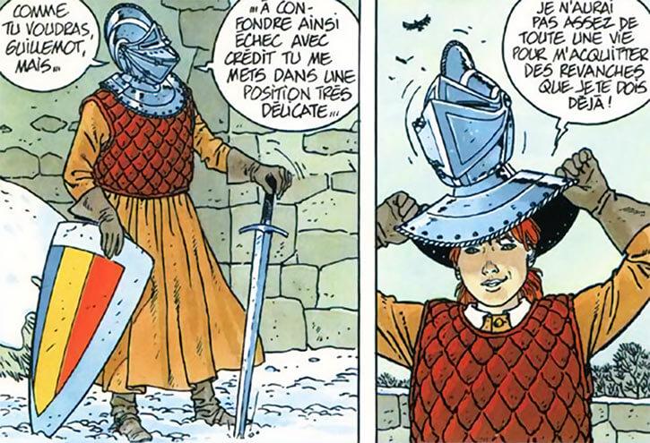 Masquerouge - 7 vies Epervier - Ariane de Troil - 9 ans