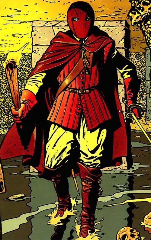Masquerouge - 7 vies Epervier - Ariane de Troil - dans l'eau dans les catacombes